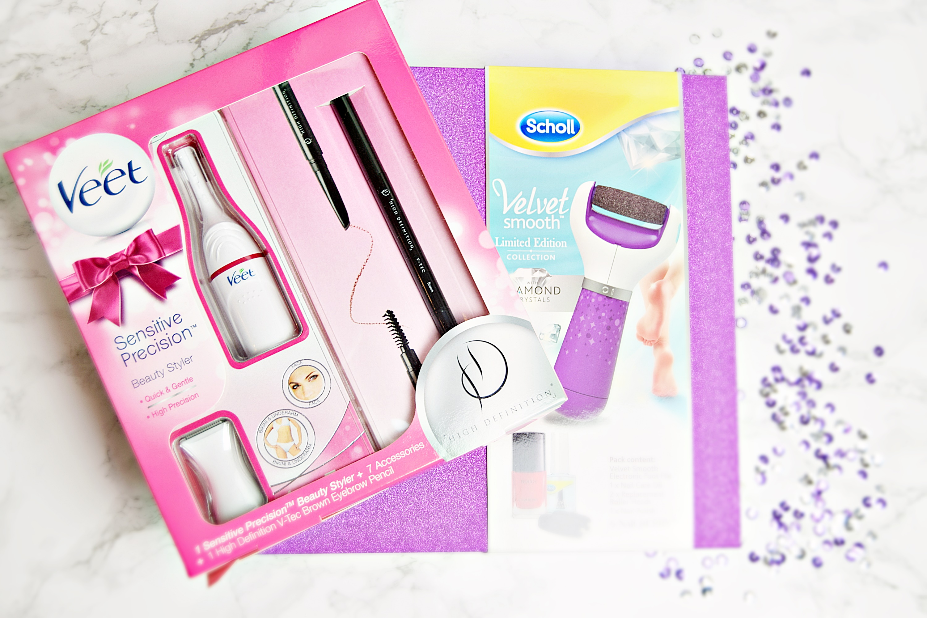 Party Perfect Christmas Gifts From Veet And Scholl